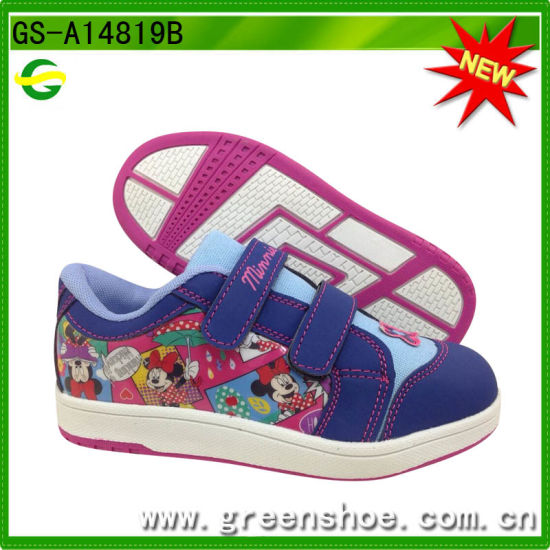 New Arrival Cartoon Printed Shoes for Kids pictures & photos