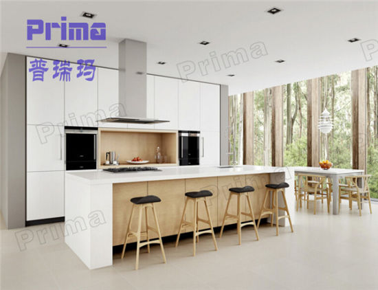 China Modern Style High Glossy Lacquer Kitchen Cabinet Ghana Kitchen