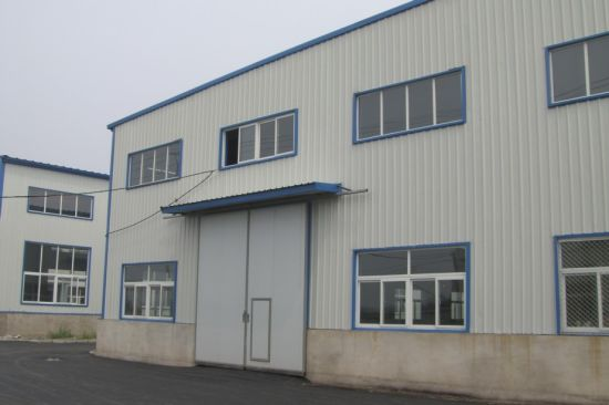 Steel Workshop with Sandwich Panel (SW-16005)