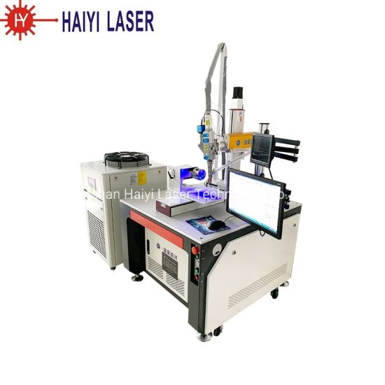 Hot Sales CNC Raycus 3mm Stainless Steel Aluminum Carbon Laser Welder Machine with Wobble Head