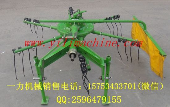 Agricultural Machinery 3 Point Linkage Rotary Hay Rake pictures & photos