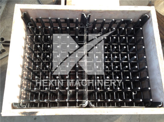 Heat Resistant Furnace Jigs Charging Carrier Casting Stackable Grid Hx61001