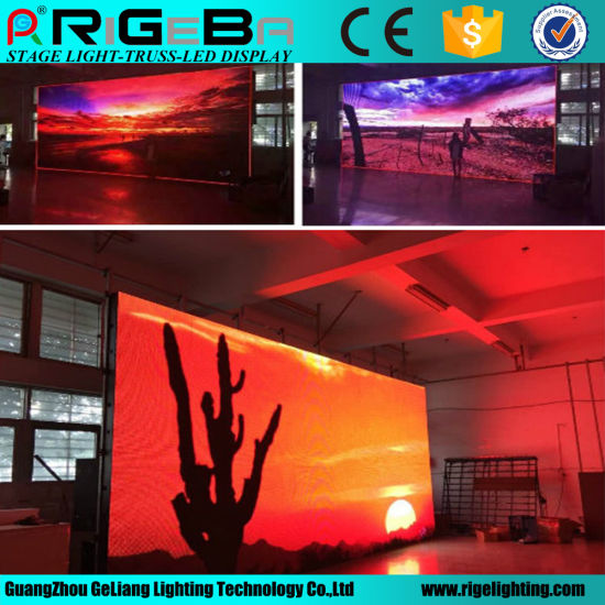 High Definition P4 Indoor Full Color LED Display (512*512mm)