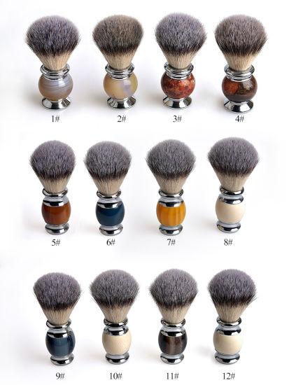 Synthetic Hair Shaving Brushes and Shaving Brush and Wet Shaving Brush