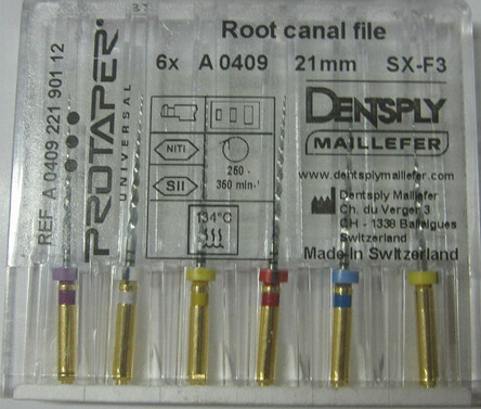 Hight Quality Dental Endo Rotary Dentsply Protaper Files pictures & photos