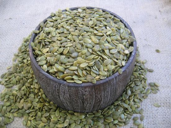 Best Quality and New Crop Shine Skin Pumpkin Seed Kernels pictures & photos