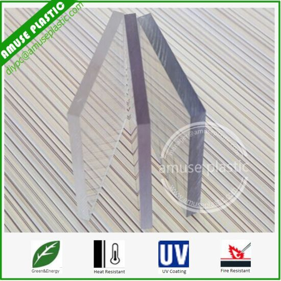 Decorative PC Solid Sheet/Colorful Polycarbonate Roofing/PC Solid Boards pictures & photos