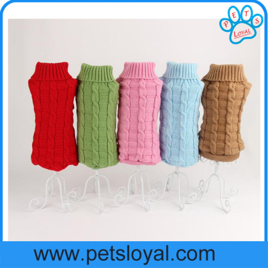 Manufacturer Cheap Pet Supply Small Pet Clothes Dog Sweater pictures & photos