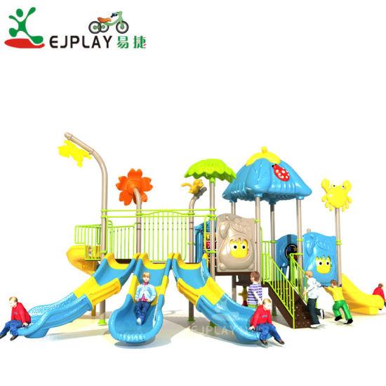 New Arrival Interesting Kids Large Slide Plastic Outdoor Playground for Amusement Park