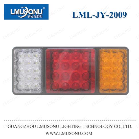 Lmusonu Jy-2009 LED Truck Tail Light Bus Tail Lamp Reversing Light