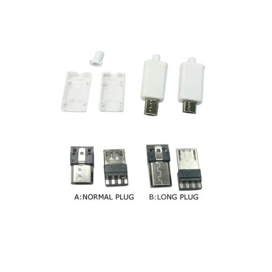 Micro 5p Plug/V8 Connector/USB Connector/Mobile Plug pictures & photos