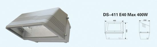 Ds-411 Wall Pack Light Tunnel Lamp E40 Max 400W