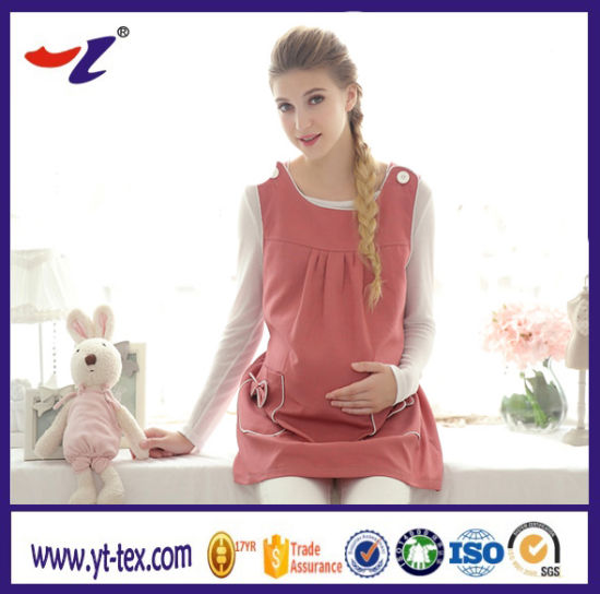 2a348694bb736 Shielding Electromagnetic Wave Fabric Conductive Radiation Protection  Clothes for Pregnant Women