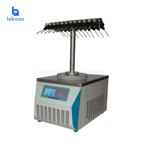 T-Type Laboratory Chemical Use Vacuum Freeze Dryer Machine in China