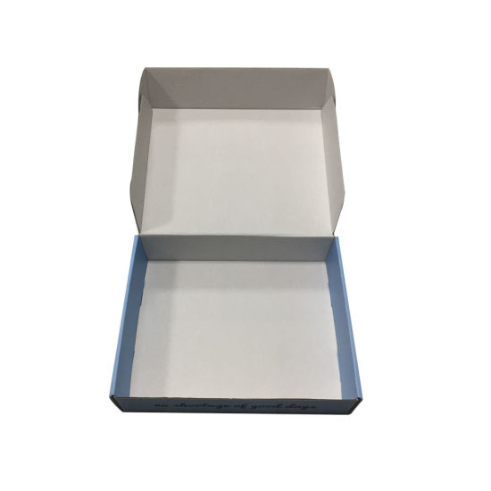 Custom Cardboard with Handle Packaging Gift Box pictures & photos