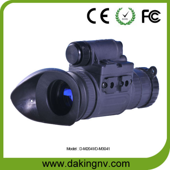 Quasi Gen3 Military IR Night Vision Monocular Telescope (D-M3041) pictures & photos