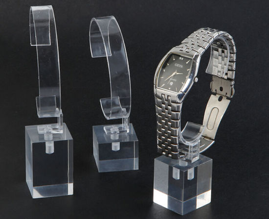 Elegant High Quality Acrylic Watch Display Stand Tray