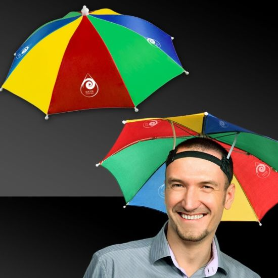 68bcf96ad7858 Umbrella Hat Multi Color Foldable Outdoors Headband Cap Sun Golf Fishing  Camping pictures   photos