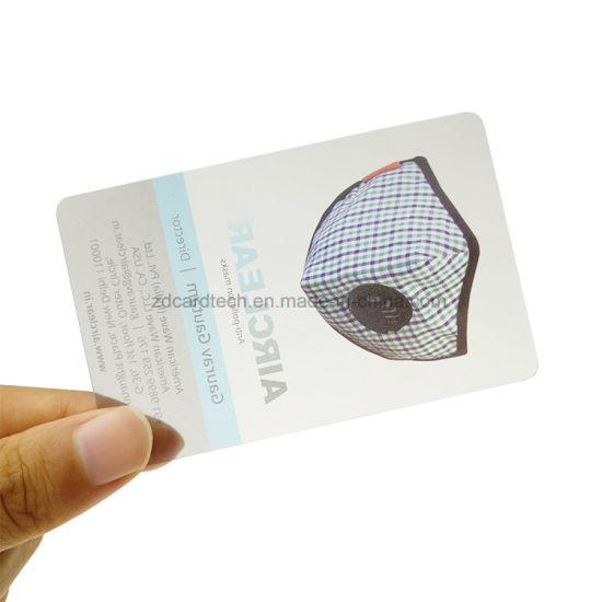 China custom printed transparent plastic clear pvc business card custom printed transparent plastic clear pvc business card reheart Choice Image