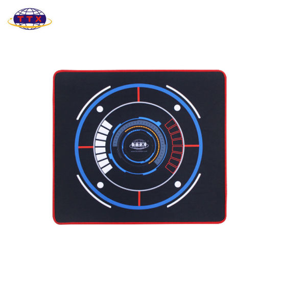 High Quality Anti-Slip Waterproof Sublimation Colorful Custom Extra Large Gaming Mouse Pad with Stiching Edge