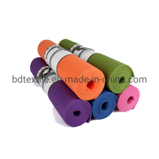 China Eco Friendly Anti Slip Custom Logo Tpe Yoga Mat With Carry Strap China Tpe Yoga Mat And Yoga Mat Price