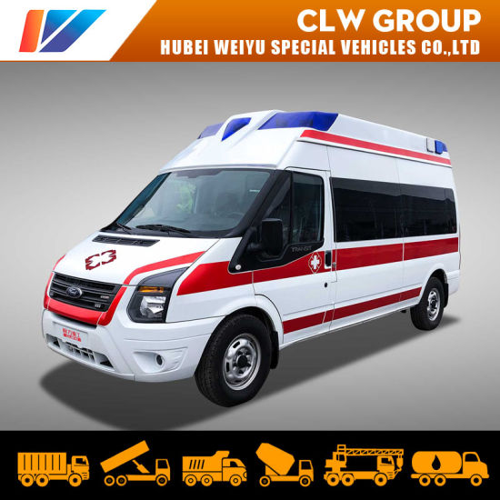 High Proof Ford V348 Patient Transport Ambulance Car Medical Rescue Negative Pressure Ambulance