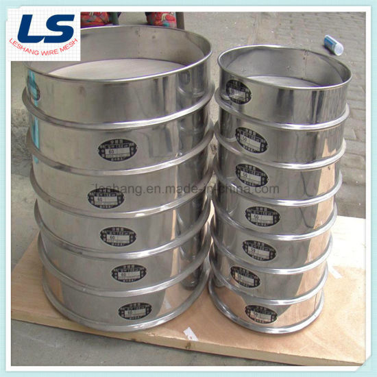 Stainless Steel Sieving Wire Mesh for Laboratory Test