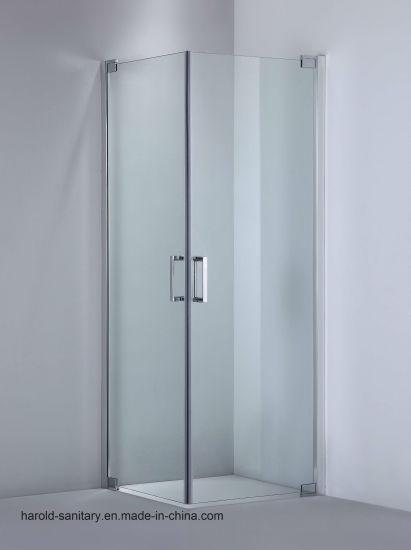 China 8 10mm Temepred Glass Shower Door Hinge Open China Shower