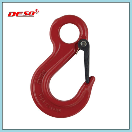 G100/G80 Eye Sling Hook with Latch From Professional Manufacturer pictures & photos