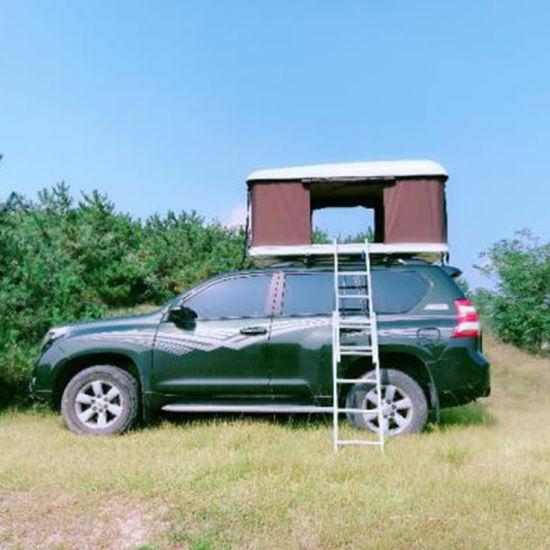 Fiberglass Hard Car Roof Top Tent with Solar Panels