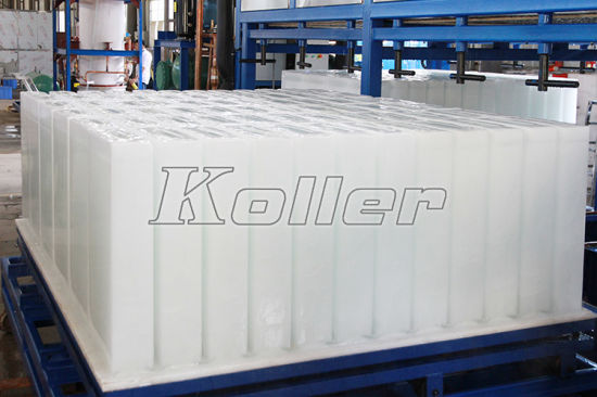 20tons/Day Huge Automatic Block Ice Machine Energy-Saving and Space-Saving pictures & photos
