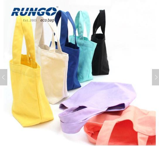 Eco-Friendly Linen Fabric Cotton Shoulder Bag in Colorful