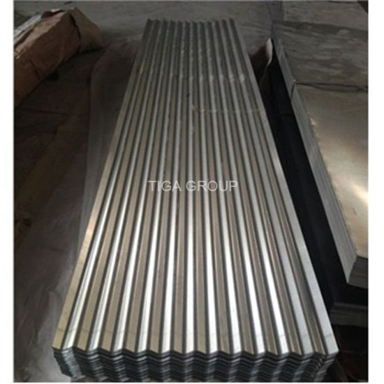 Hot Sale Cgi Corrugated Zinc Coated Galvanized Steel Roofing Sheets pictures & photos