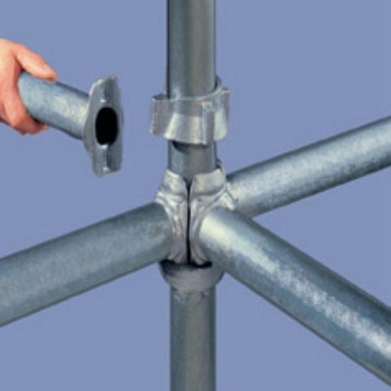 Q345 Steel Ringlock Scaffold Cuplock Scaffolding Formwork System