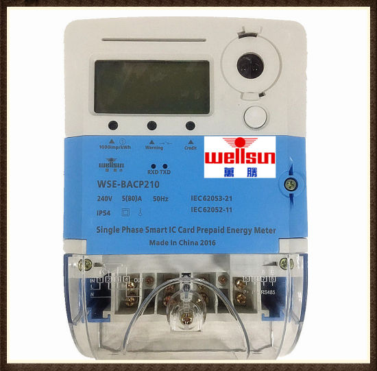 Prepayment Three Phase Four Wires Mulity-Tariff Energy Meter