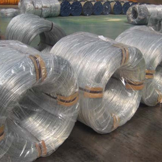 Agricultural Greenhouses Galvanized Steel Wire Spot Wholesale Galvanized Spring Steel Wire Orchard Bundled Frame Galvanized Steel Wire