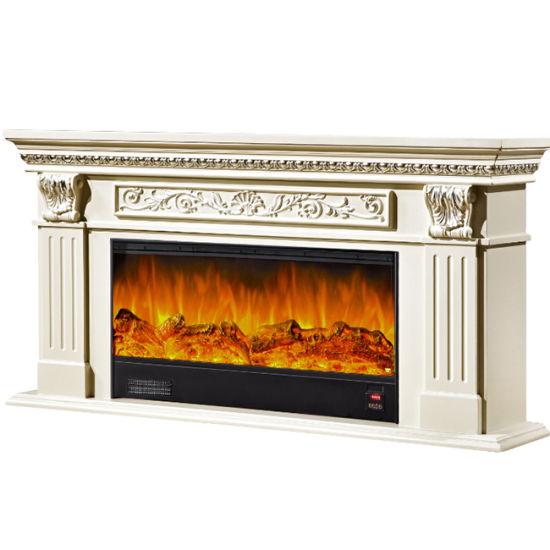 China Electric Fireplace No Heat Wall Mounted Heater