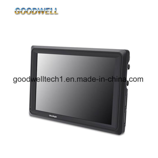 "2200 Nit High Brightness 3G-SDI & 4K HDMI Input and Output LCD Monitor 7"" LCD Display"