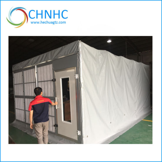 Used Car Spray Booth Mobile Paint Booth for Sale