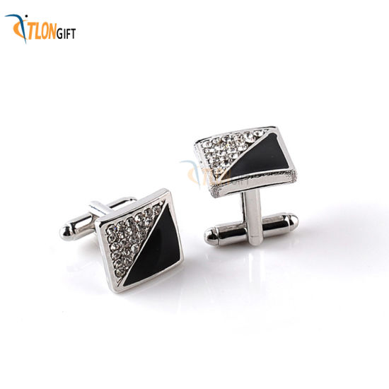 Fancy Design High Quality Metal Luxury Cufflink for Promotional Decoration