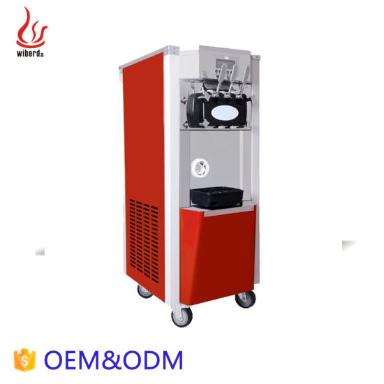 Junjian Pre-Cooing 3 Flavor Soft Serve Softy Ice Cream Machine Price