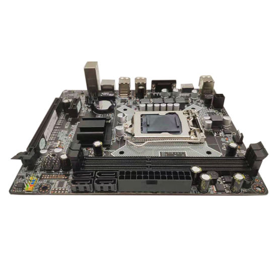 Micro ATX H61-1155 Computer Motherboard with 2*DDR3/4*SATA/6*USB