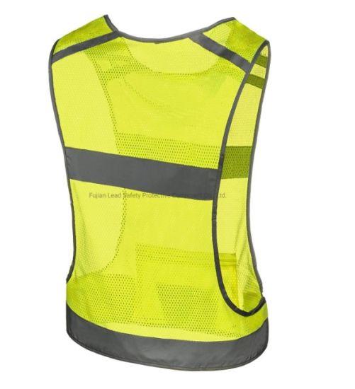 Women Men Reflective Vest for Night Running Traffic Safety Construction Wear