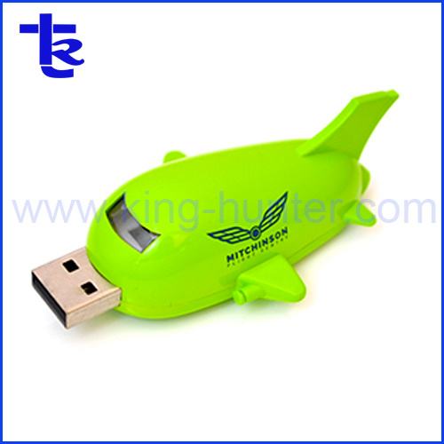 Airplane Shape USB Flash Airplane USB Stick for Gift