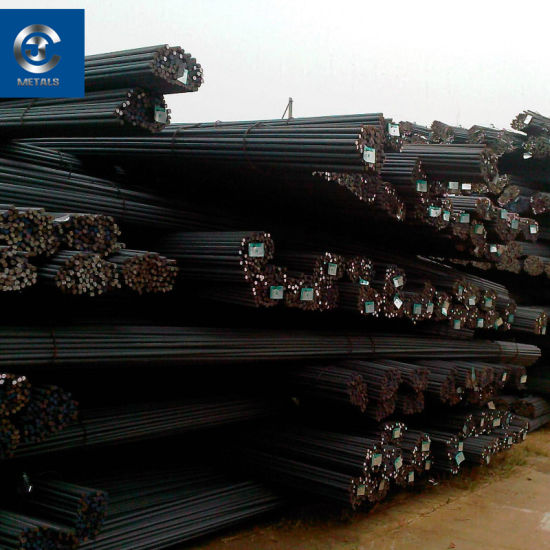 ASTM A615 Gr40 BS4449 Gr460 Gr60 HRB400 Hrb400e HRB500 Deformed Steel Rebar  for Construction Concrete Building