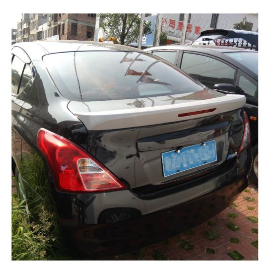Car Body Trunk Rear Roof Lip Spoiler Wing Trim Sticker