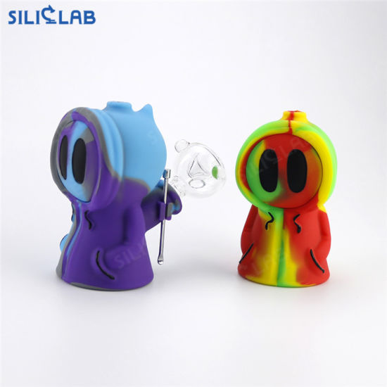 Ghost New Creative Silicone Smoking Pipes Decorative Pipe for Concentrate Smoking pictures & photos