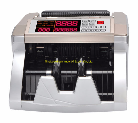 Bank Cash Money Banknote Detector Money Counting Machine Bill Counter