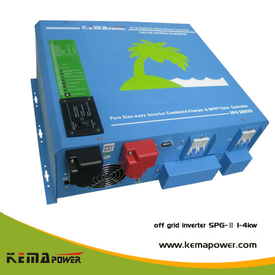 Hybrid 3 in 1 Pure Sine Wave Solar Inverter with MPPT Solar Charger Controller pictures & photos
