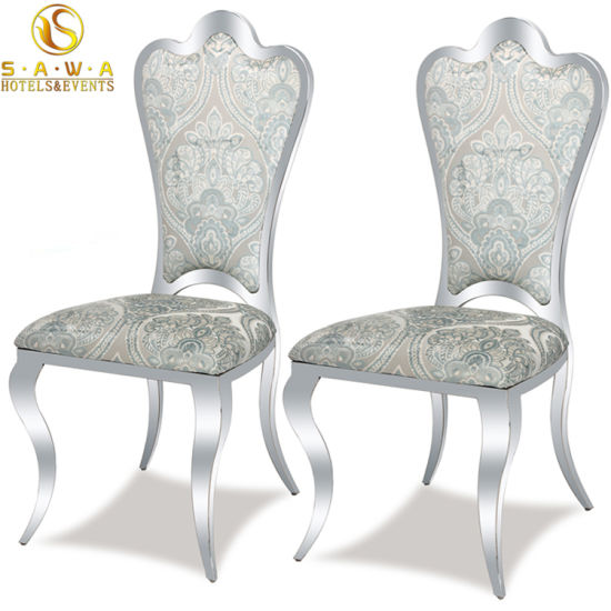 Pattern Dining Chairs Stainless Steel